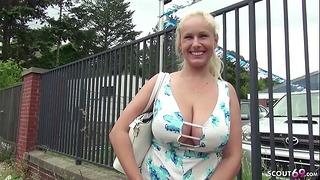 German Scout – Mega Titten Teen Wicky Bei Strassen Casting